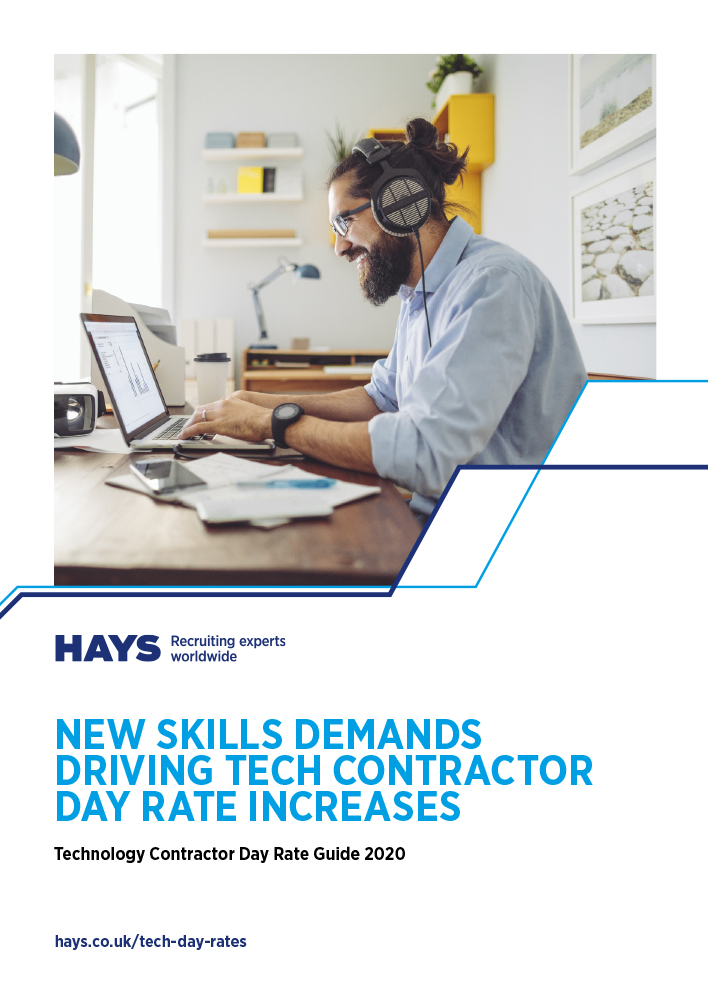 Technology Contractor Day Rate Guide cover