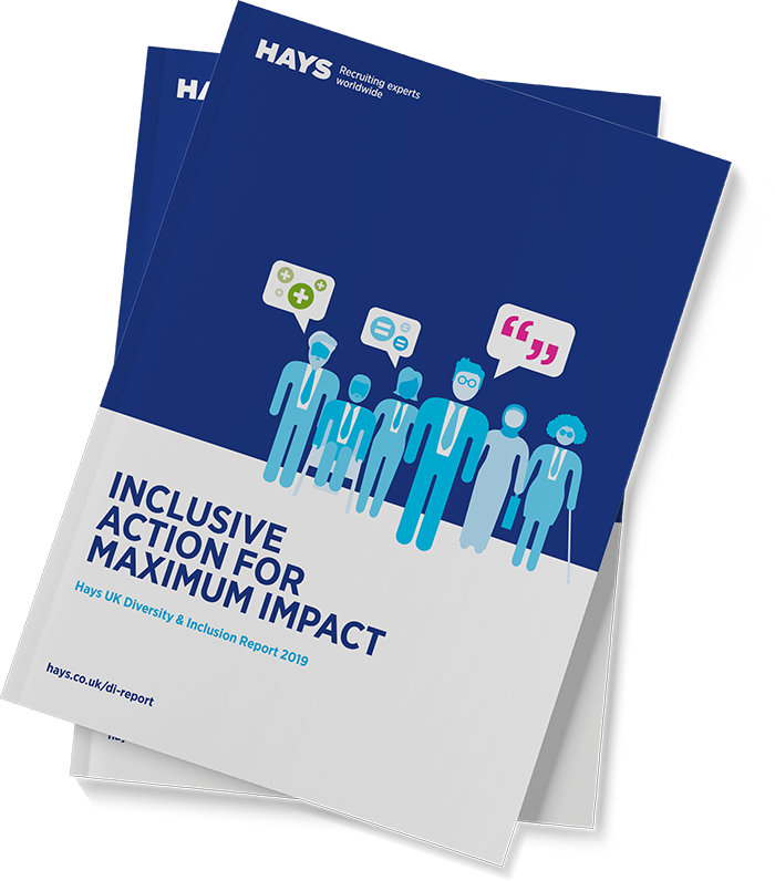 Hays Diversity & Inclusion Report cover