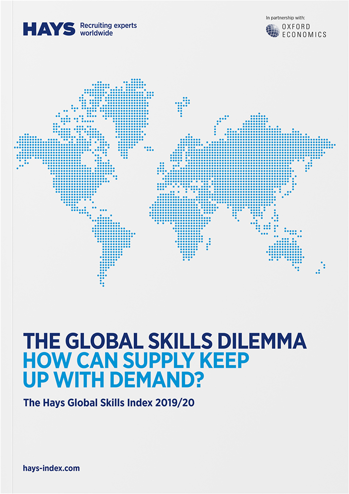 Hays Global Skills Index cover